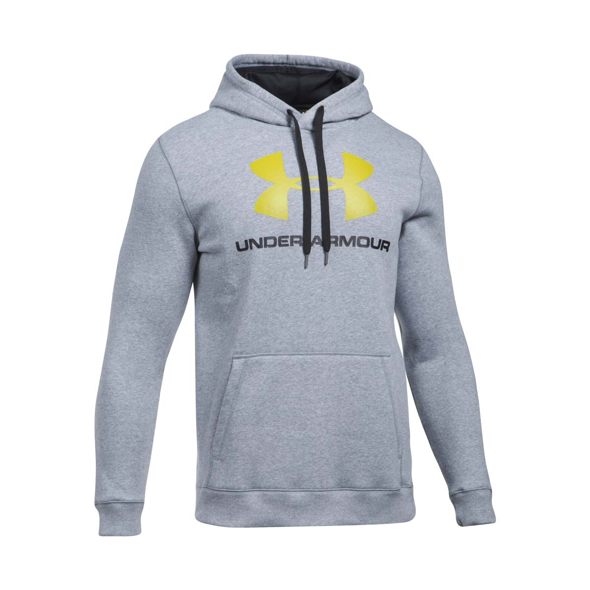 UNDER ARMOUR Felpa con cappuccio UA Rival Fleece Fitted Full Zip da uomo