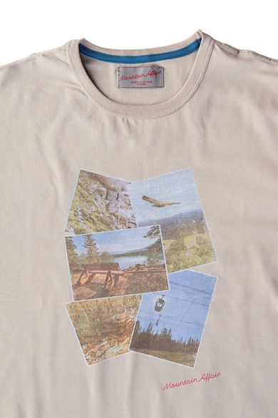 Mountain Affair T-Shirt Uomo M'S CARTOLINE