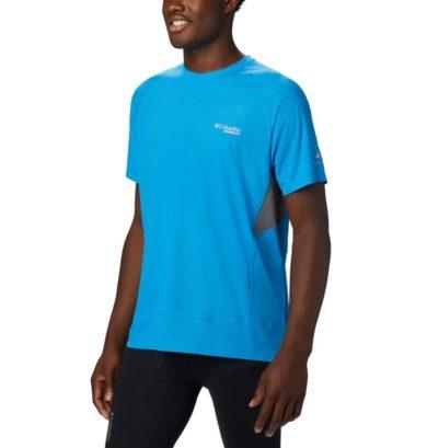 Columbia T-shirt da running Titan Ultra II Short Sleeve da uomo