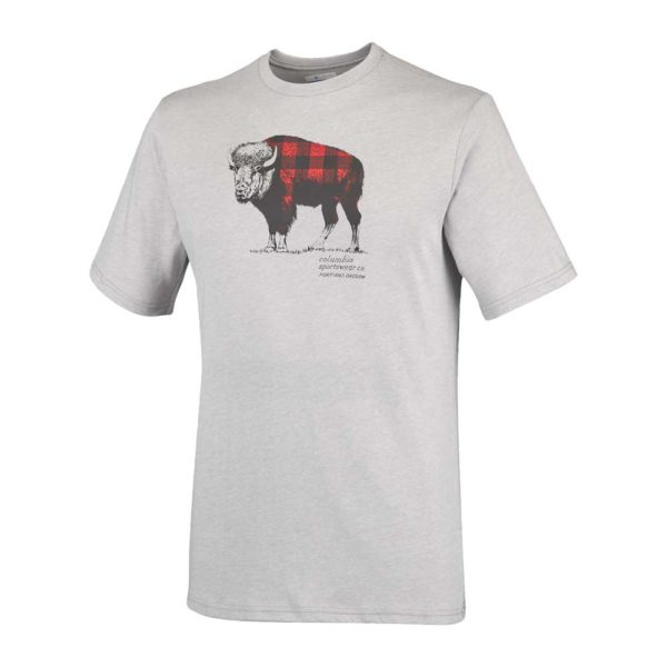 COLUMBIA T-Shirt Uomo CSC CHECK THE BUFFALO II jo1648_039